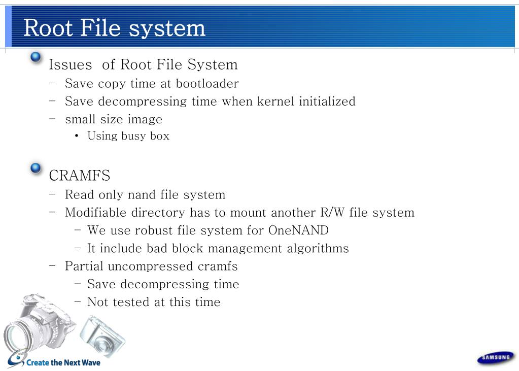 Root File system