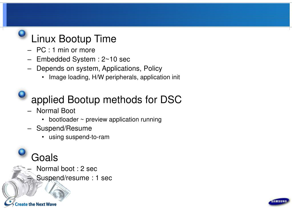 Linux Bootup Time