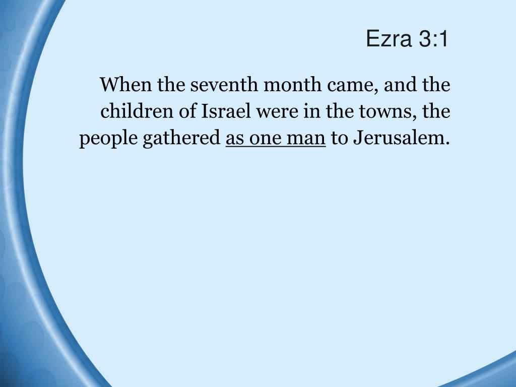 Ezra 3:1