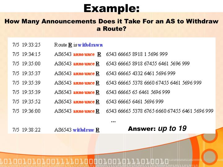 How Many Announcements Does it Take For an AS to Withdraw a Route?