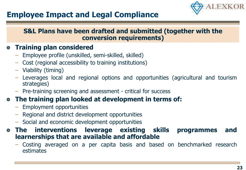 Employee Impact and Legal Compliance