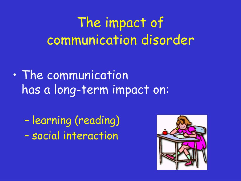 The impact of