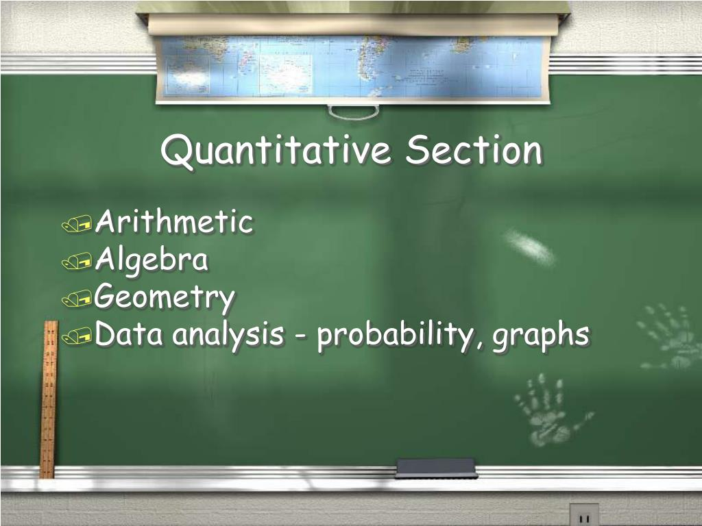 Quantitative Section