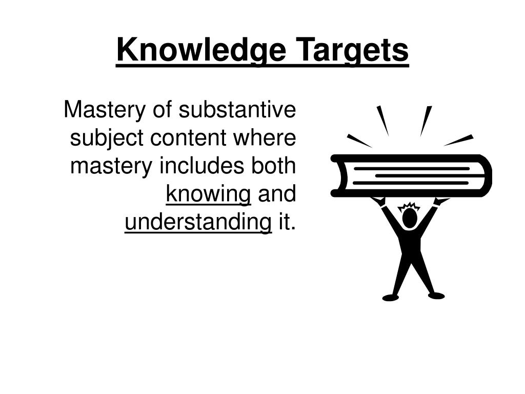 Knowledge Targets