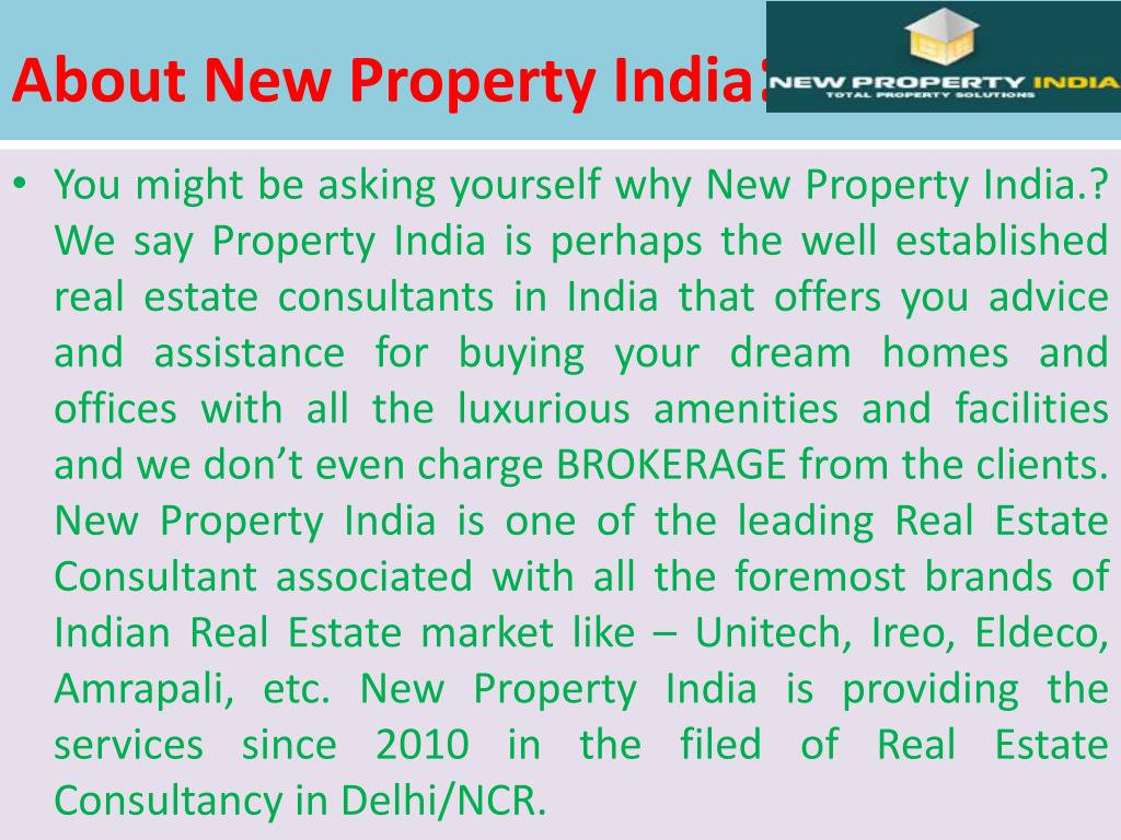 About New Property India