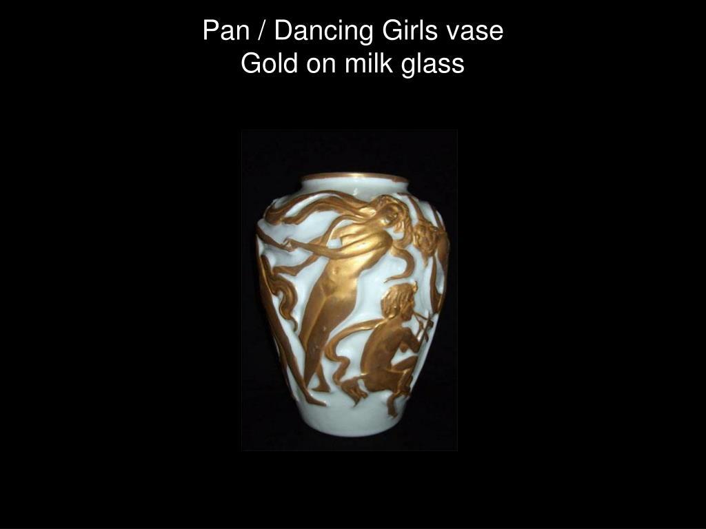 Pan / Dancing Girls vase