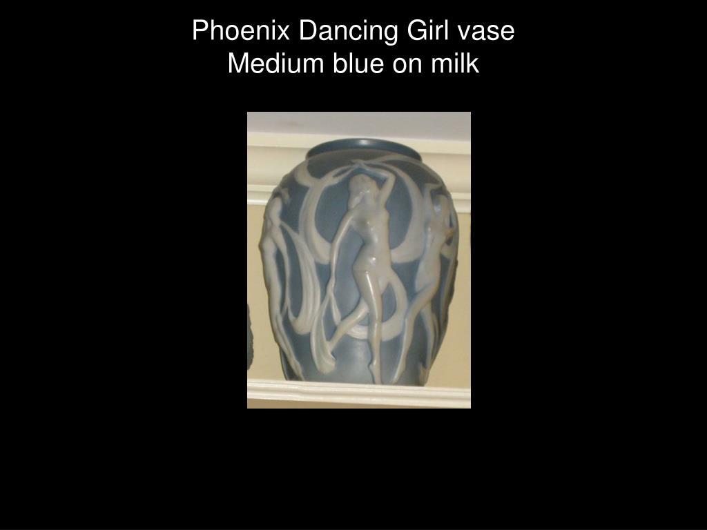 Phoenix Dancing Girl vase