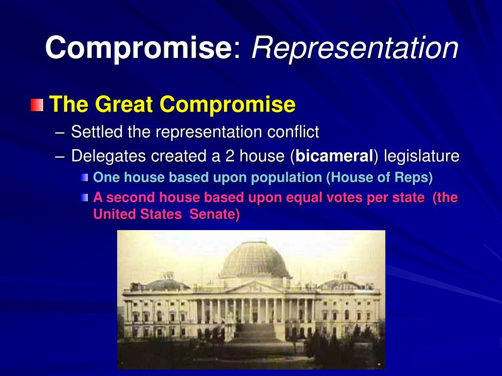 the compromises of the constitution strengths The mindsets of political compromise compromises--even the most successful the strengths and weaknesses of the arguments they express and the attitudes they.