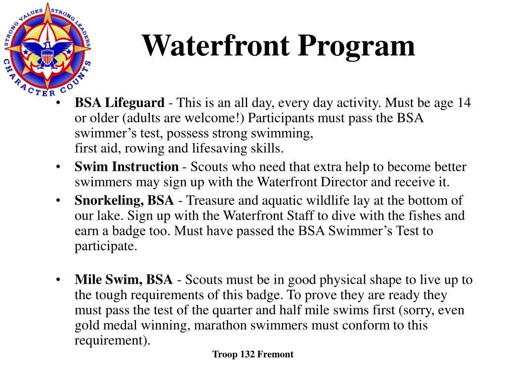 Waterfront Program
