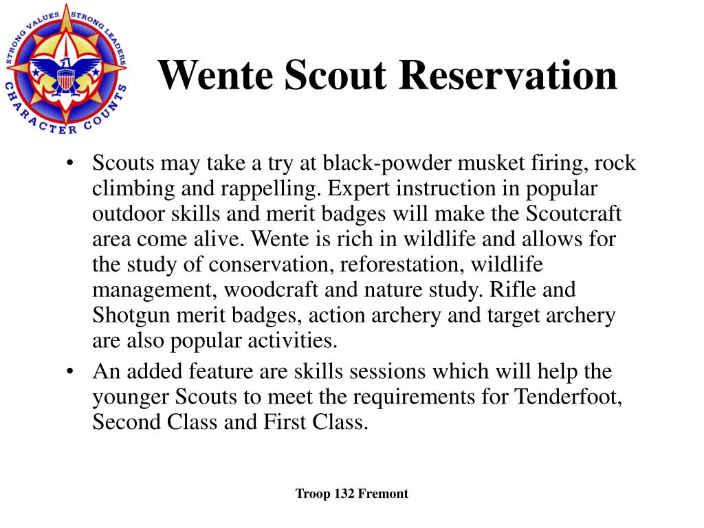 Wente Scout Reservation