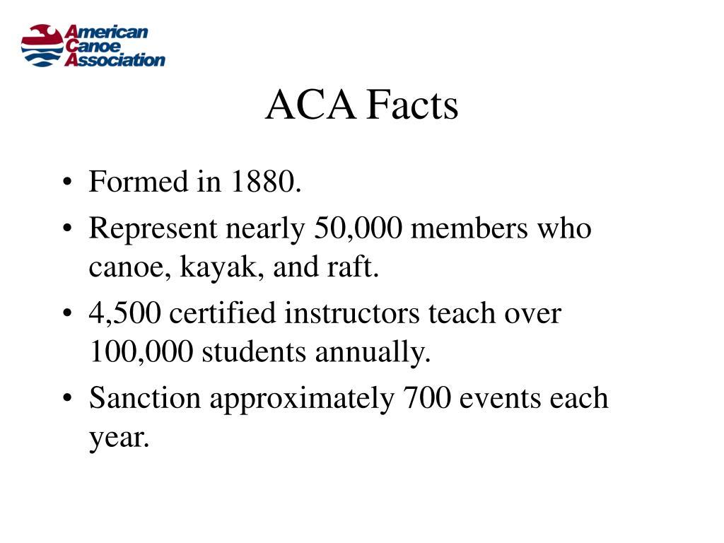 ACA Facts
