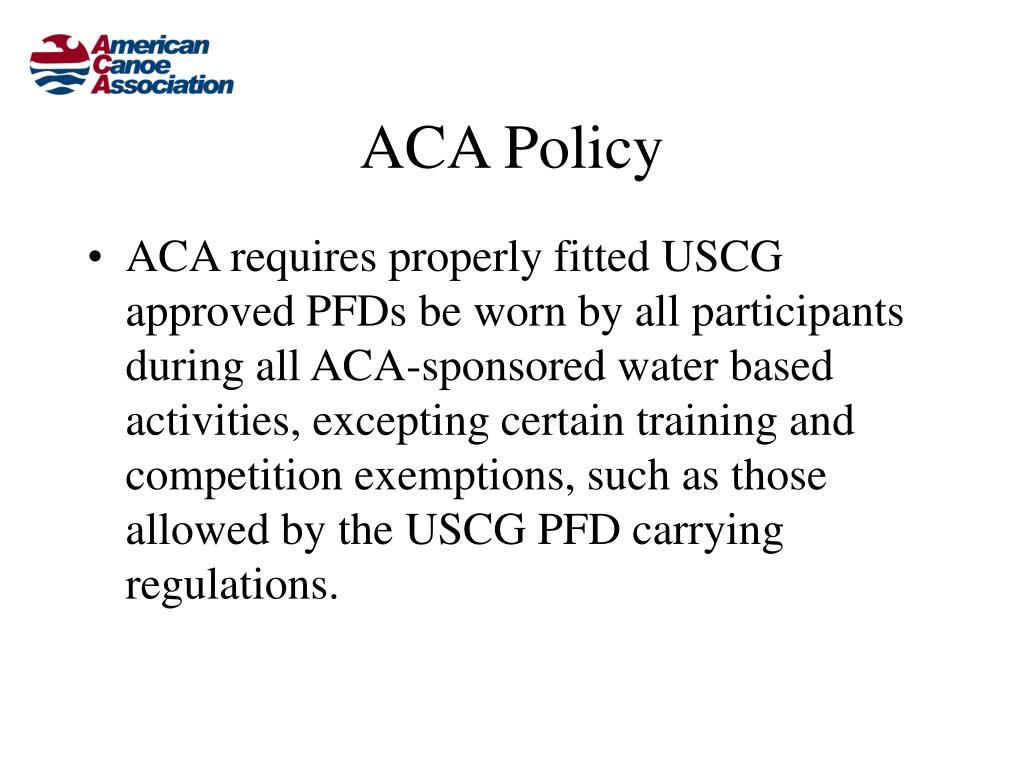 ACA Policy