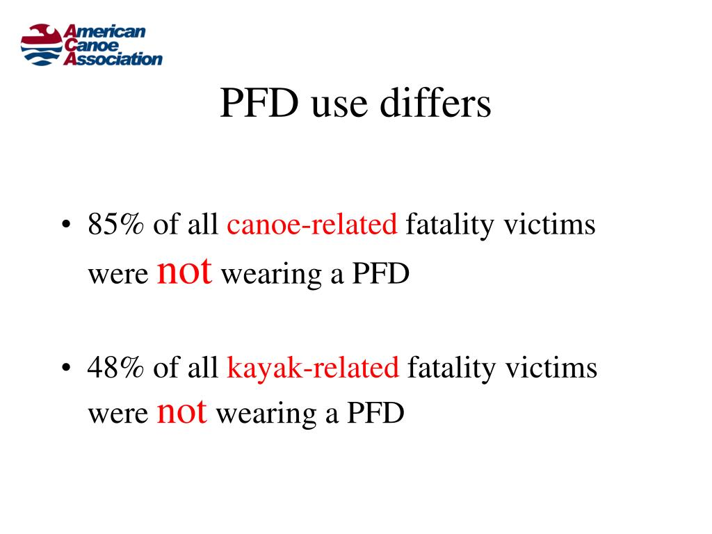 PFD use differs