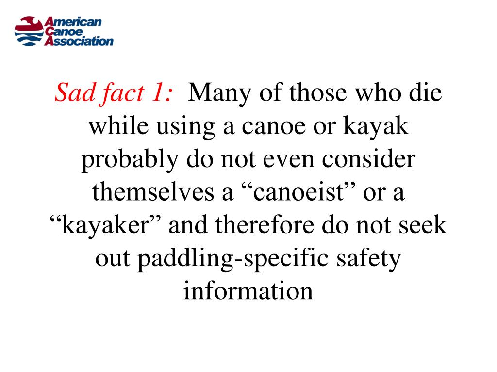 Sad fact 1: