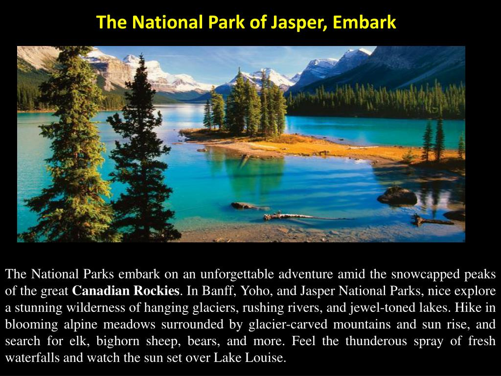 The National Park of Jasper,