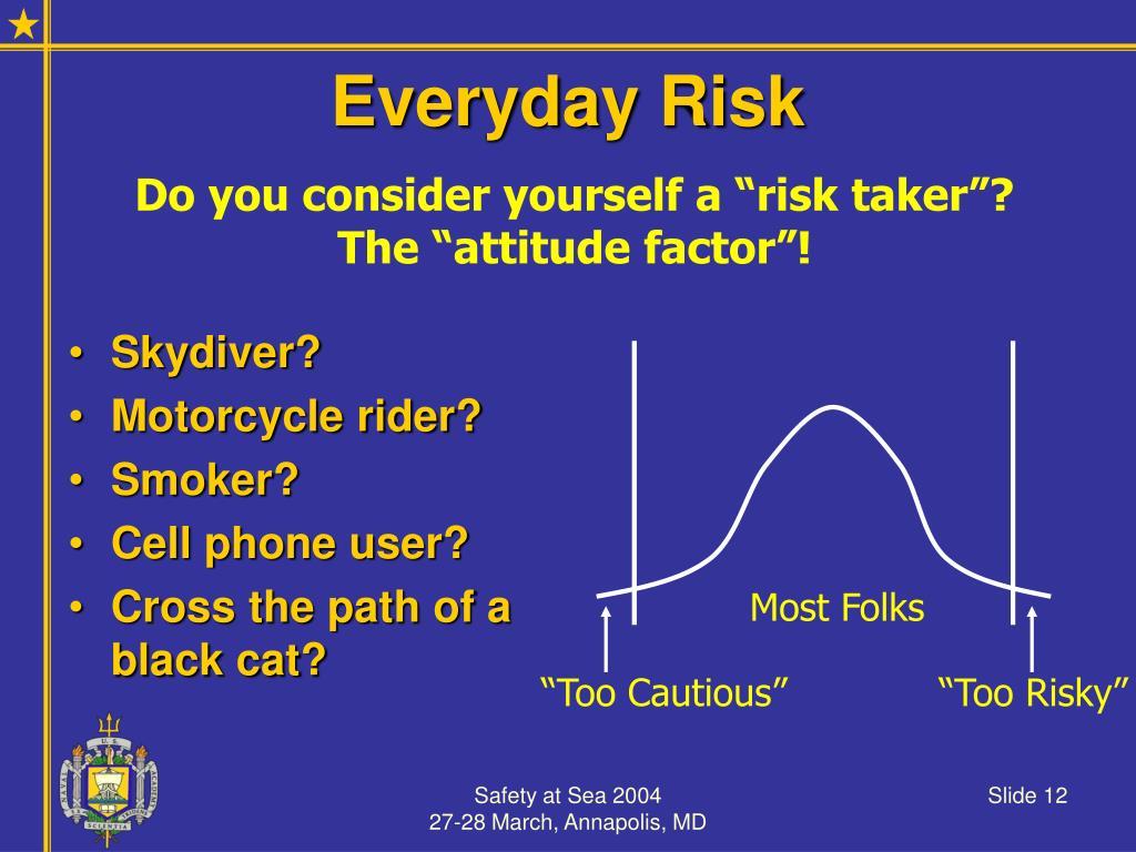Everyday Risk