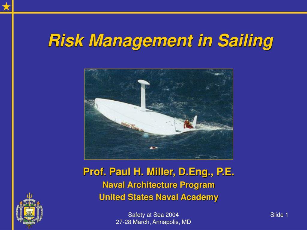 Risk Management in Sailing