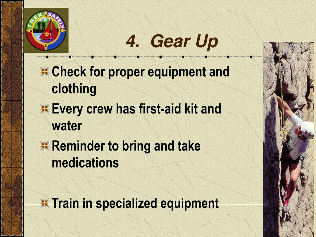 4.  Gear Up