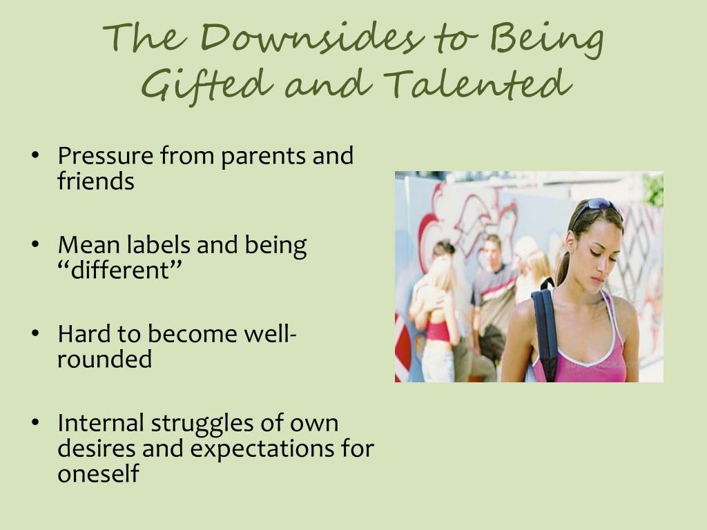 The Downsides to Being Gifted and Talented