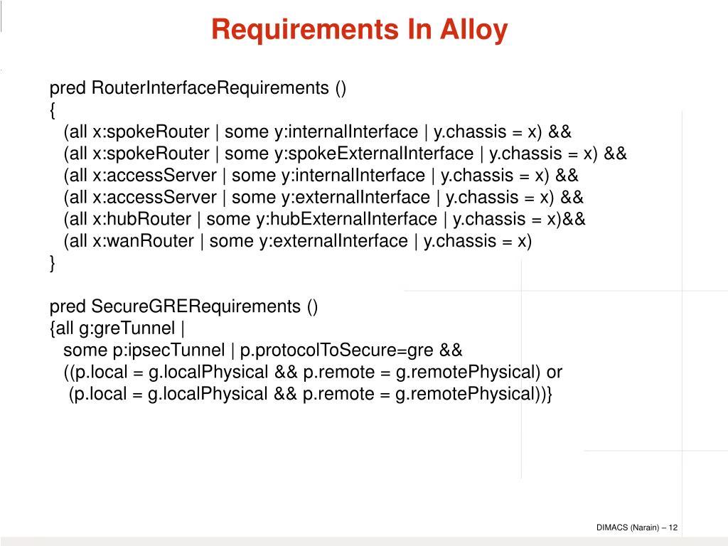 pred RouterInterfaceRequirements ()