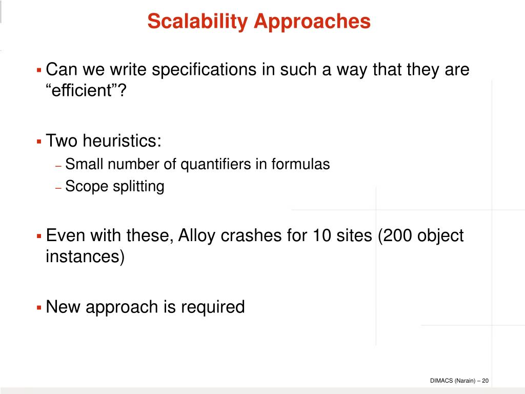 Scalability Approaches
