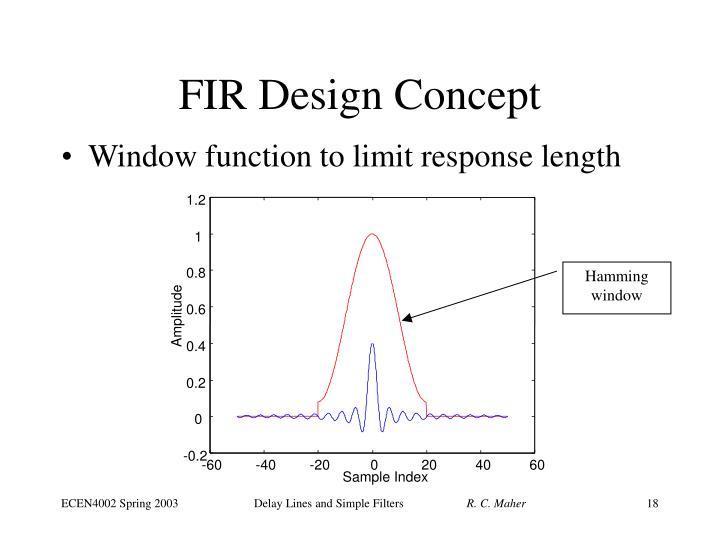 FIR Design Concept