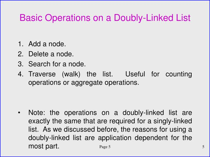 linked list basics This document introduces the basic structures and techniques for building linked listswith a mixture of explanations, drawings, sample code, and exercises.