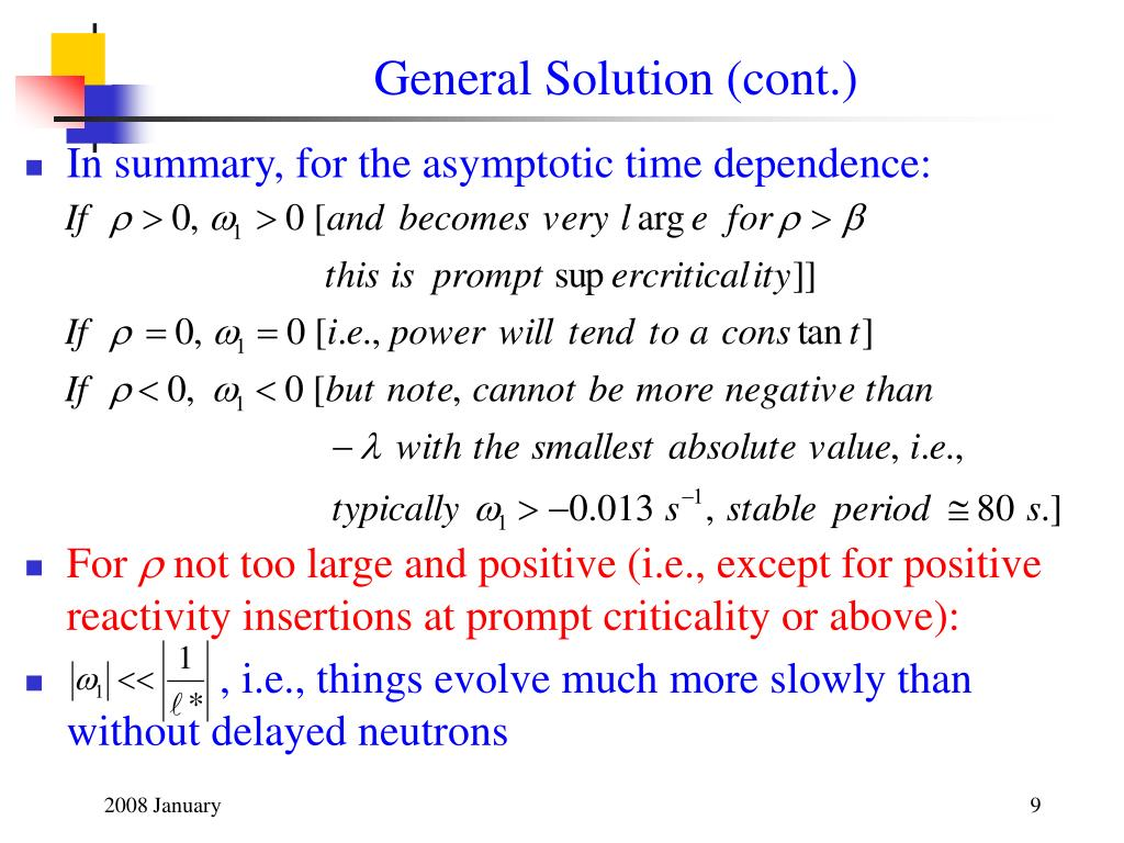 General Solution (cont.)