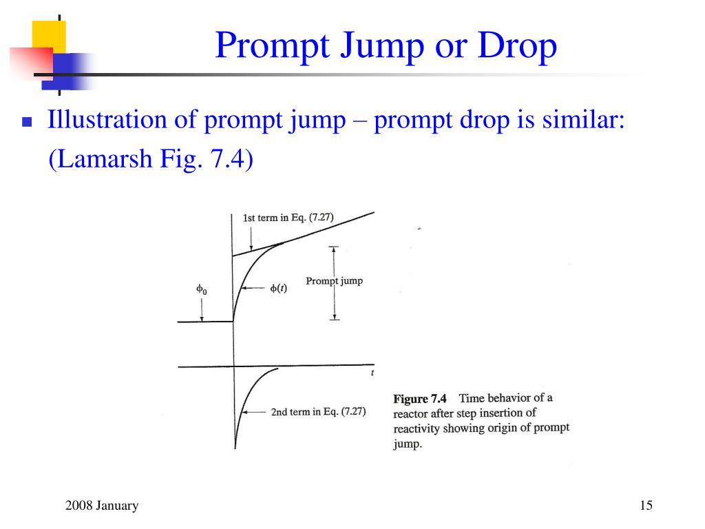 Prompt Jump or Drop