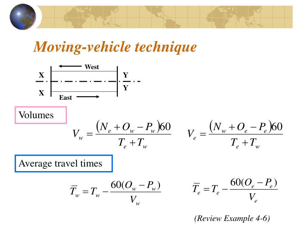 Moving-vehicle technique