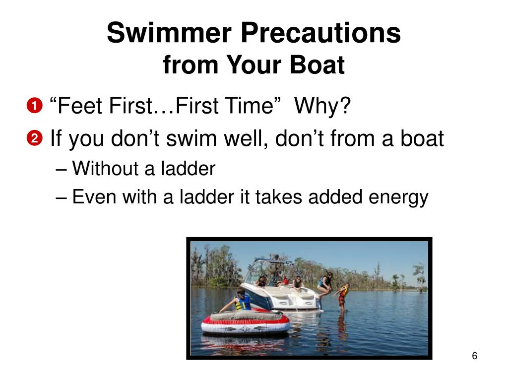 Swimmer Precautions