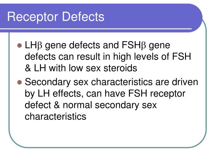 Receptor Defects