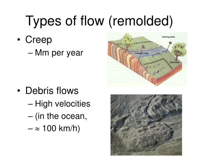 Types of flow (remolded)