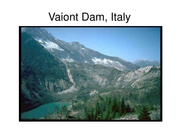 Vaiont Dam, Italy