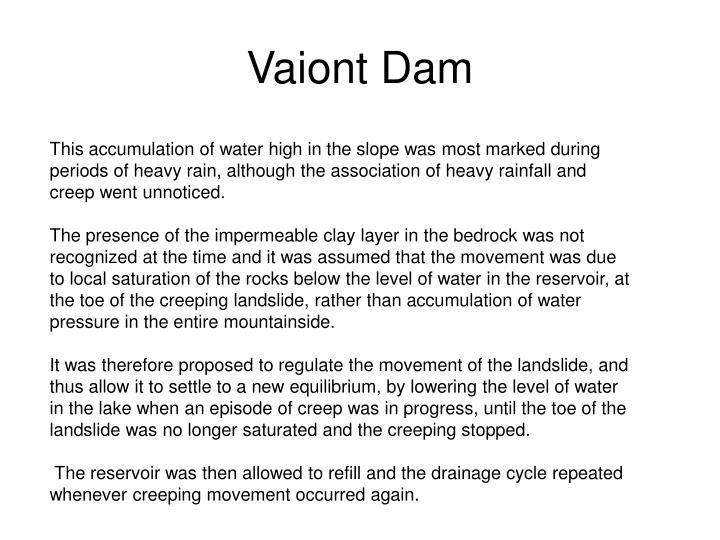 Vaiont Dam