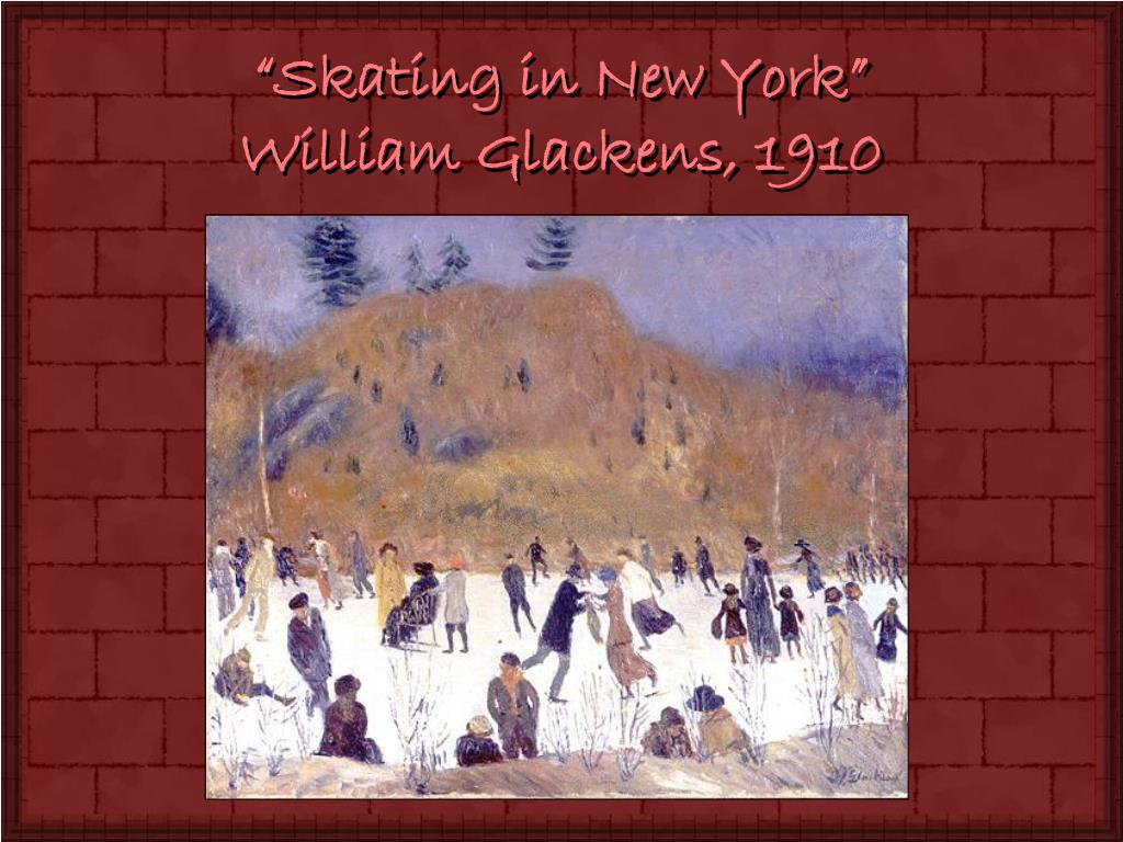 """Skating in New York"""