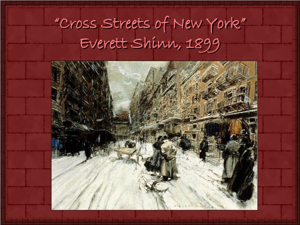 """Cross Streets of New York"""