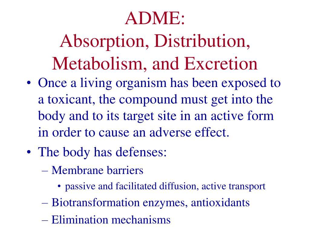 ADME: