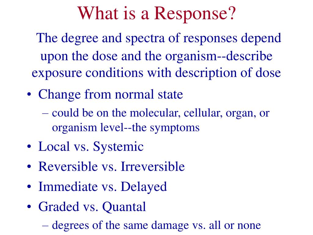 What is a Response?