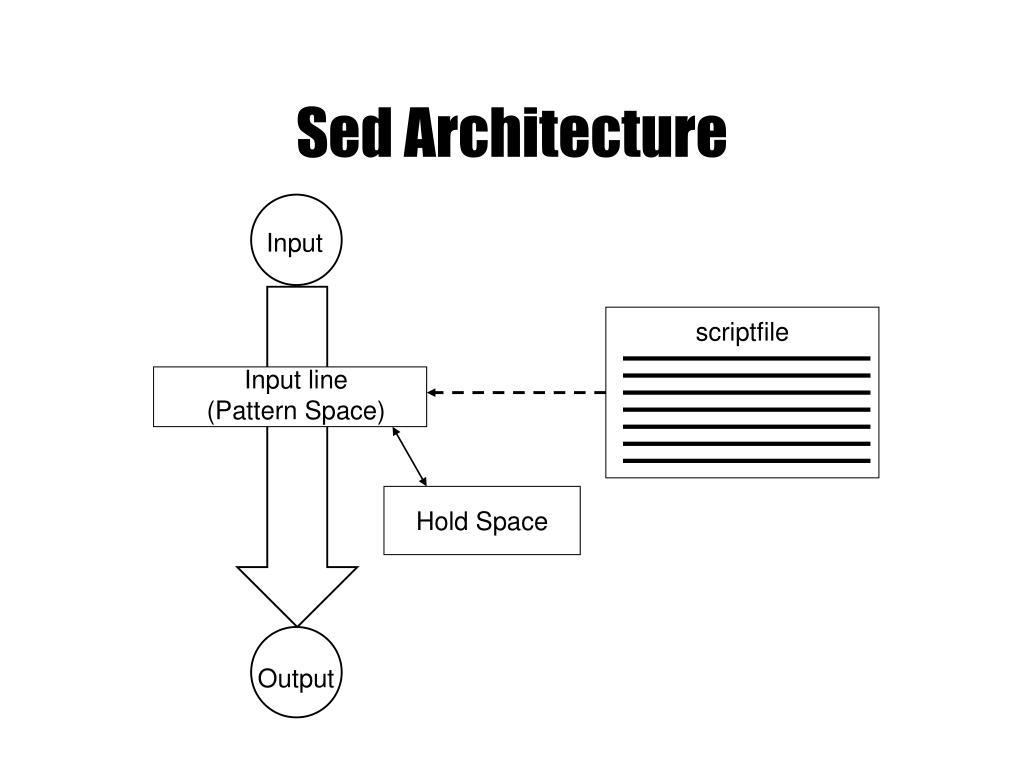 Sed Architecture