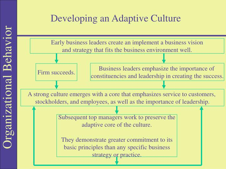 Developing an Adaptive Culture