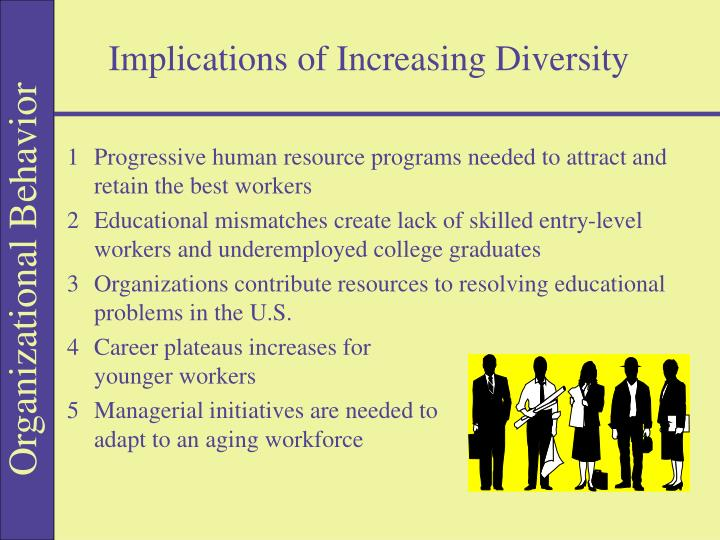 Implications of Increasing Diversity
