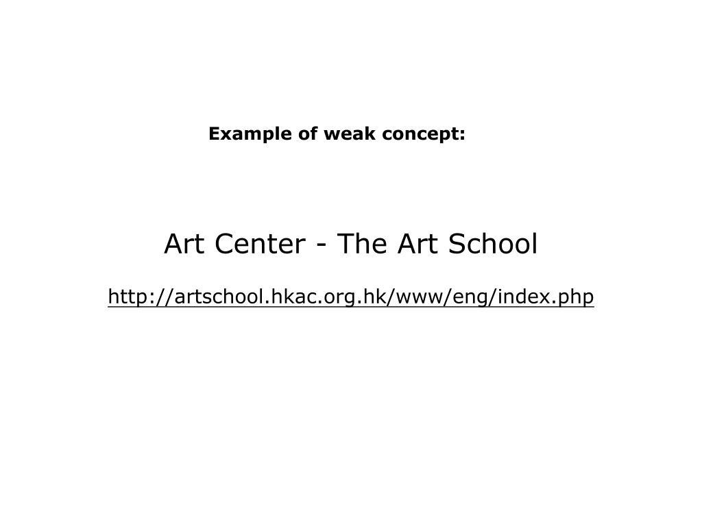 Art Center - The Art School
