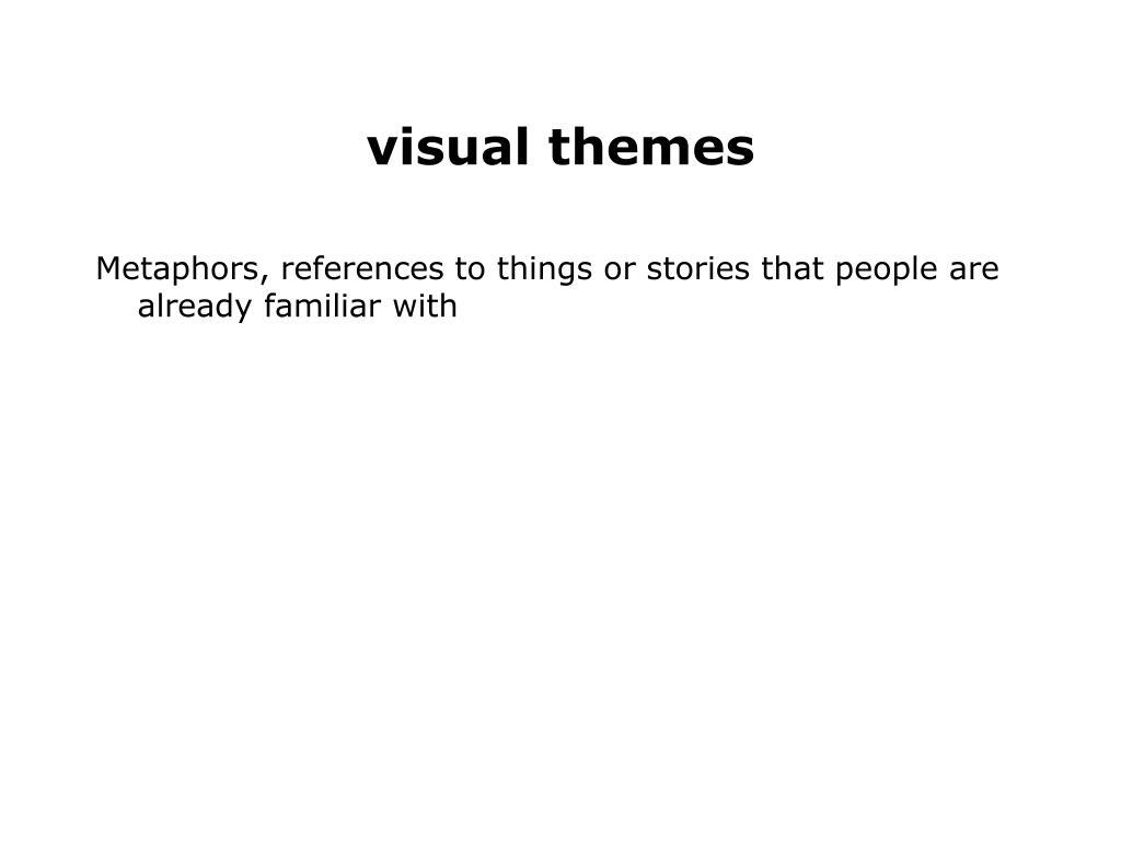 visual themes