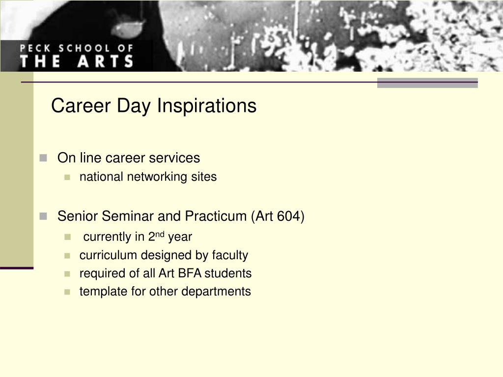 Career Day Inspirations