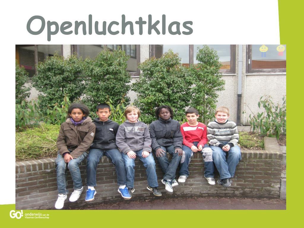 Openluchtklas
