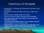 ceremony of kinaalda