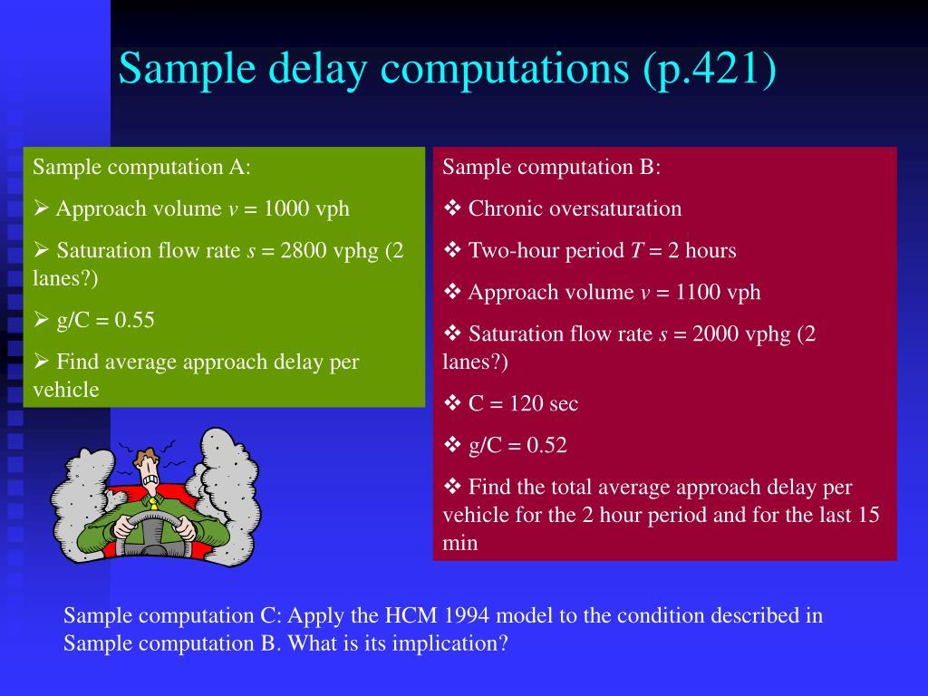 Sample delay computations (p.421)