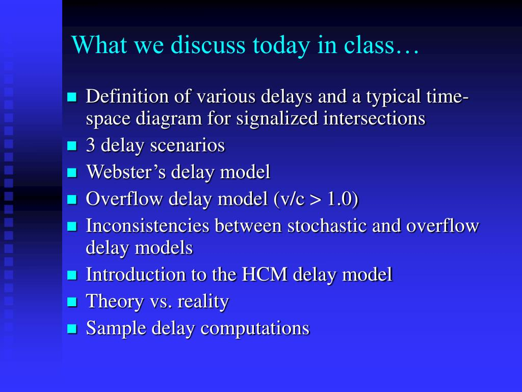 What we discuss today in class…