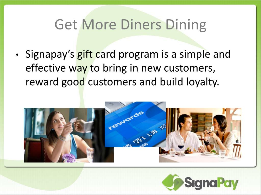 Get More Diners Dining